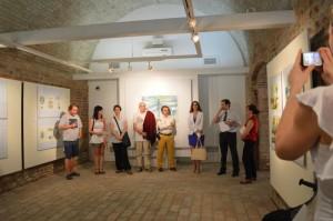 Otvorenje izložbe 2103. u Galerji Ružić
