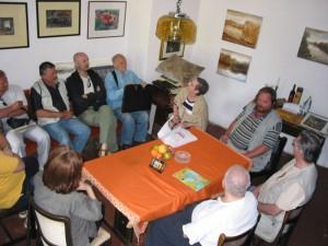 U kući Zdravka Ćosića u Slavonskom Kobašu, 2005.